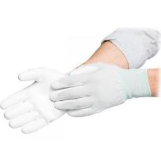 Rukavice nylon-polyester potiahnuté dlane