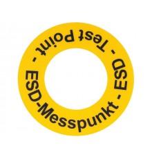 Nálepka ESD Test Point