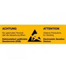 Samolepiace baliace štítky výstražné