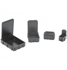 Zásobníky pre SMD a IO, skrinky so zásuvkami