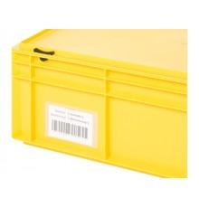 PVC puzdro na štítky
