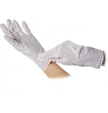 Polyesterové rukavice - potiahnuté dlane
